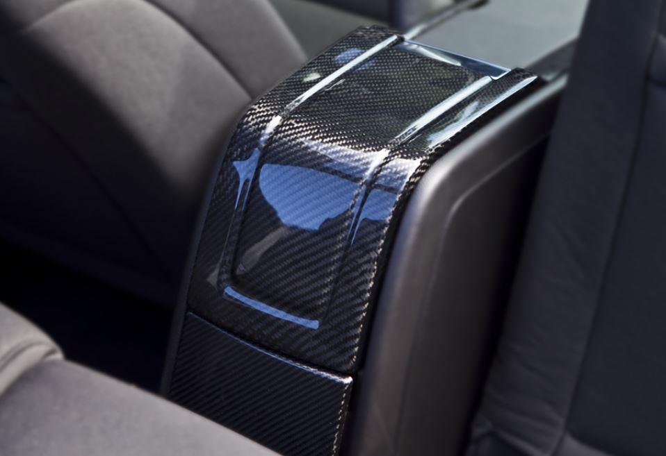2010 2014 Mustang Carbon Fiber LG121 Arm Rest Cover U0026 Extension (V6/GT  Larger Image