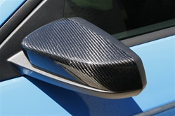 2010-2014 Mustang TruCarbon Mirror Cover (Carbon Fiber)