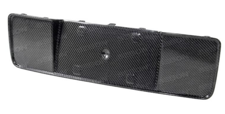 2013-2014 Mustang Center Rear Tail Garnish Cover Panel (GT500) CARBON FIBER