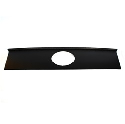 2005-09 Mustang SALE Rear Blackout Panel W/Fake Gas Door Cutout - Textured Black