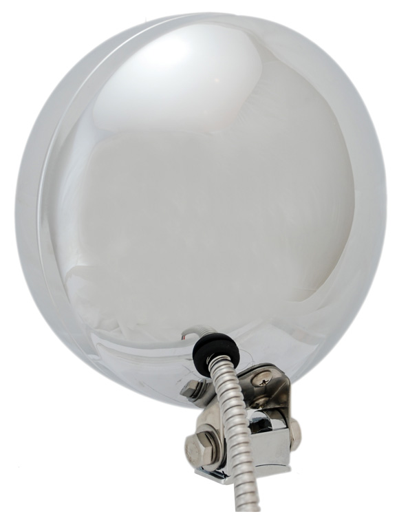 "6.7"" VX 6010 SERIES RUGGED CAST ALUMINUM DESIGN OVERSIZED BULB FOR 50% MORE LIGHT - CHROME (PAIR)"