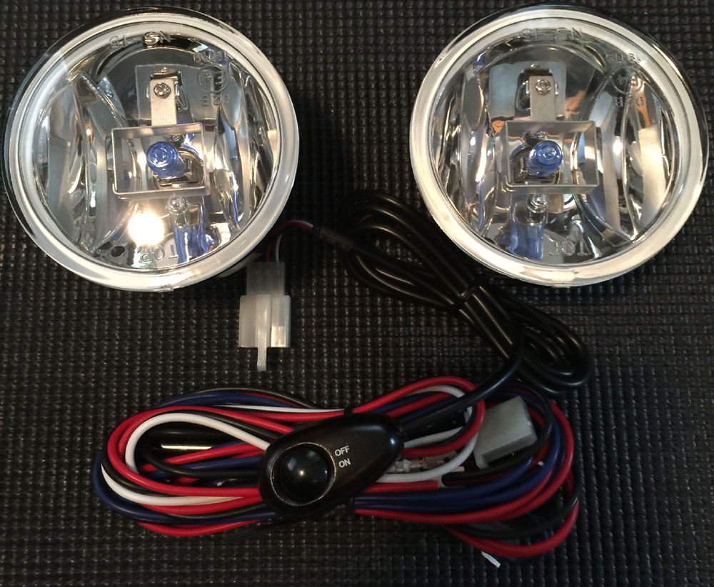 "3.6"" Ultra White ROUND Fog Light - Mount anywhere design VX-F55"