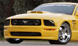 05-09 Mustang XENON AGGRESSIVE - GT Front Bumper - (Urethane)