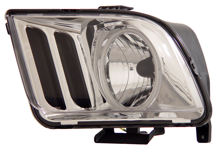 05-09 Mustang Headlights GEN 3 with HALO (CCFL)- CHROME (Pair)