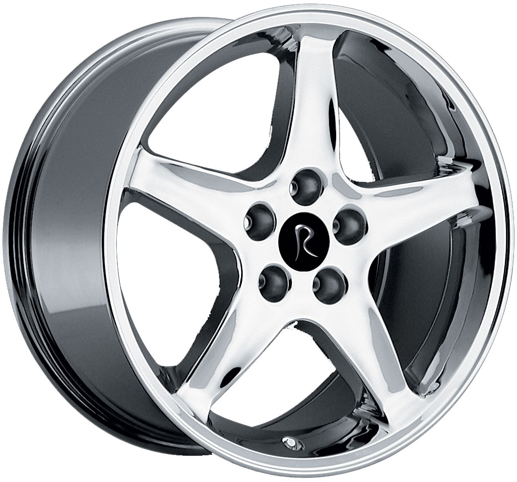 "COBRA R - CHROME - 5 Lug 05-13 (sizes available 17"", 18"", 20"" & Staggered)"