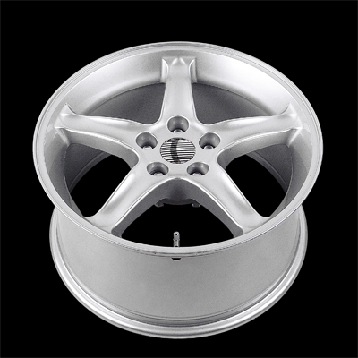 "COBRA R - SILVER - 5 Lug 05-13 (sizes available 16"", 17"", 18"" & Staggered)"