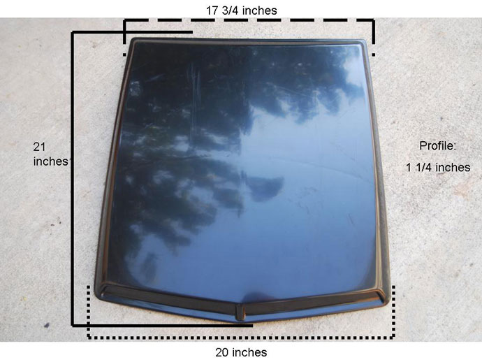 2005-2009 Mustang DG Hood Scoop (Paint Options)