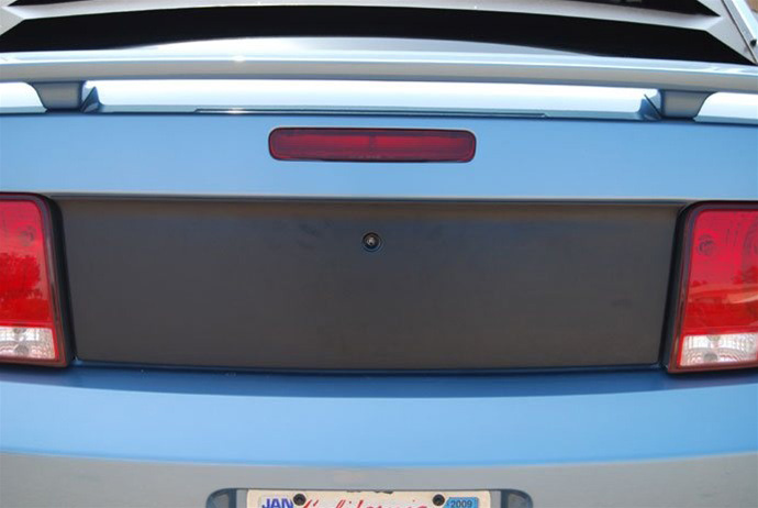 2005-09 Mustang DG Blackout Panel with Gas Door Cutout- Textured