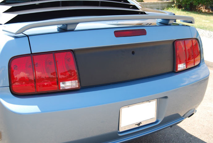 2005-09 Mustang DG Blackout Panel - Textured