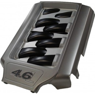 2005-2010 4.6L Intake Plenum Cover, Gun Metal