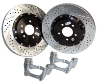 2005-2011 Mustang GT Baer EradiSpeed-Plus-2 Rear Rotors