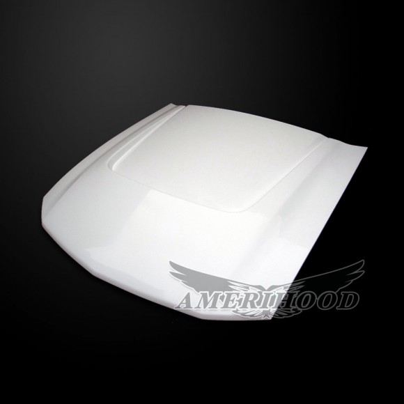 05-09 Mustang Type-SBY Style Functional Heat Extraction Hood by Amerihood (Fiberglass)