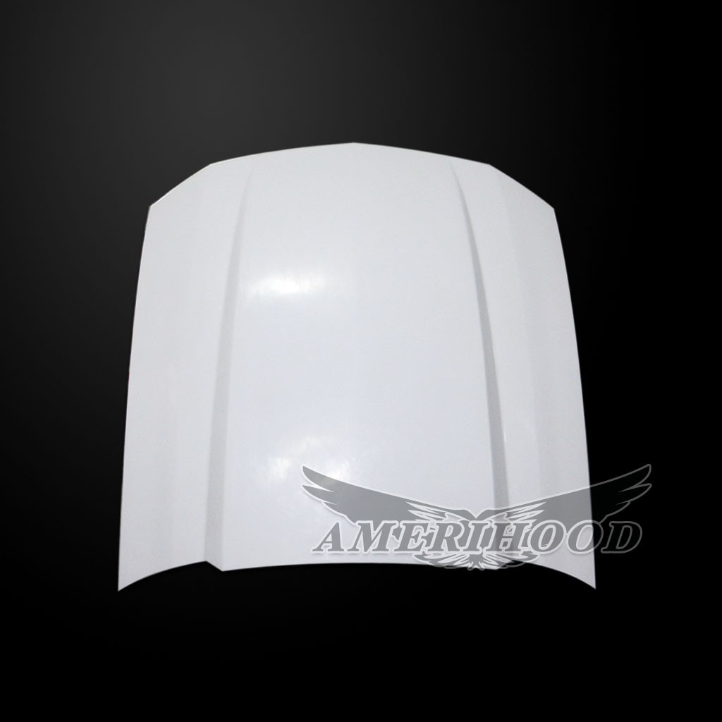 05-09 Mustang Type-Cowl Style (3 Inch) Functional Heat Extraction Hood by Amerihood (Fiberglass)