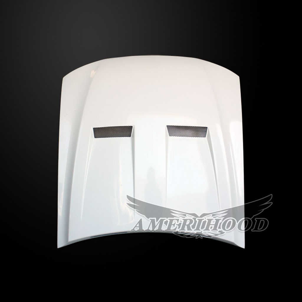 05-09 Mustang Type-6 Style Functional Heat Extraction Hood by Amerihood (Fiberglass)