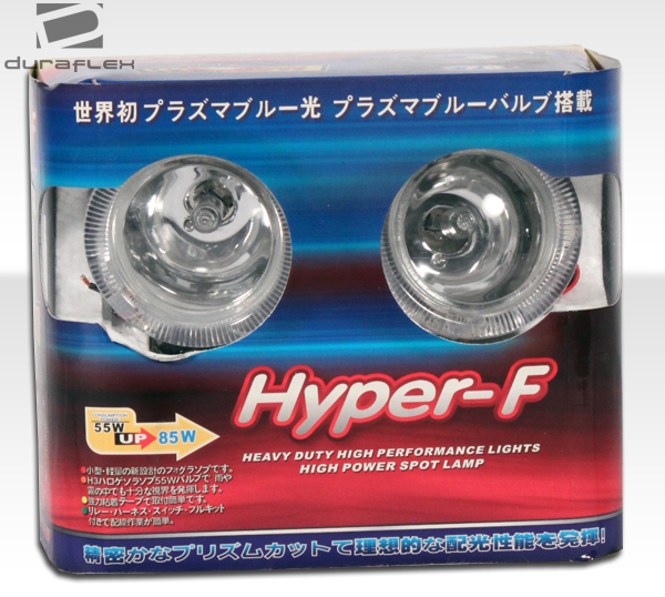 "Chrome 3"" ROUND Fog Light With HALO RING"