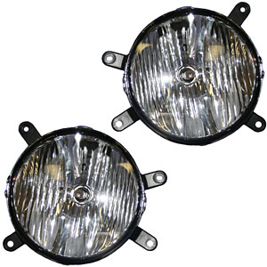 05-09 Mustang Fog Lights - OEM - CLEAR (GT only) (Pair)