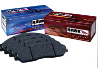 2005-2011 Mustang GT/GT500 Hawk HPS Brake Pads - Rear