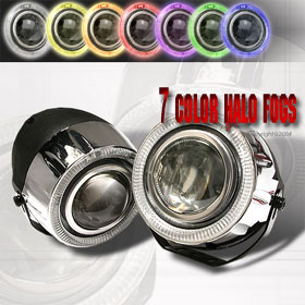 "Universal 4.5"" ROUND - 7 Color Changing Halo Fogs"