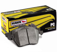 2005-2011 Mustang GT/V6 Hawk Ceramic Rear Brake Pads