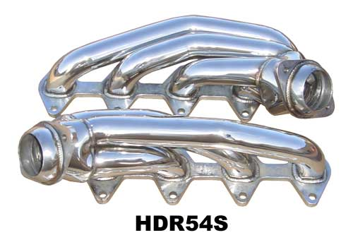 2005-2010 Mustang GT 4.6L Shorty Headers - Stainless Steel - PYPES