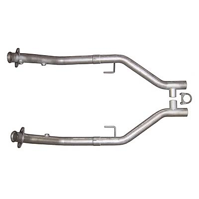 "2005-2010 Mustang GT 4.6L Stainless Steel 2.5"" H-Pipe - PYPES"