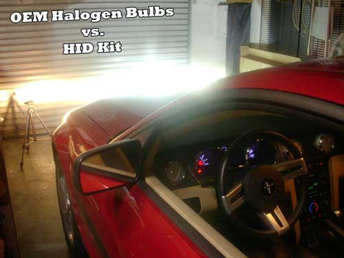 H.I.D Kit (High Intensity Discharge HID) Single Beam Conversion Kit (Single Beam Fogs or dual light Headlights)