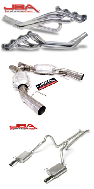2005-09 Mustang GT JBA Header Back Exhaust Kit - 3 Inch