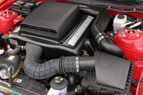 2005-2009 Mustang V6 (05-09 V6 only) Shaker System Intake kit with Hood Scoop (Fits your OEM Hood)