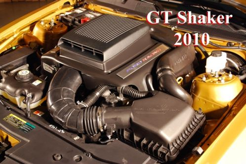 2010 Mustang V6 (2010 V6 only) Shaker System Air Intake and Hood Scoop (For your OEM Hood)
