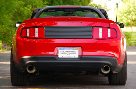 2010-2012 Mustang Deck Lid Trim Panel by CDC