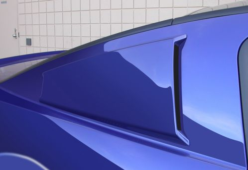 2005-2013 Mustang CDC Smooth C-Pillar Scoops (Window Delete)