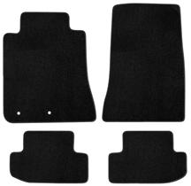 2015 Ford Mustang Lloyd Floor Mats - No Logo Black