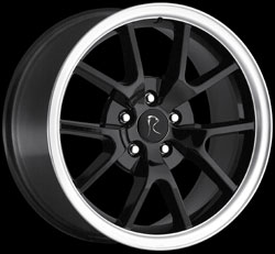 "FR500 (380) - BLACK - 5 Lug 05-13 (sizes available 18"" & Staggered)"