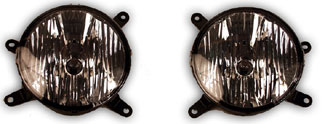 05-09 Mustang Fog Lights - OEM - SMOKED (GT only) (Pair)