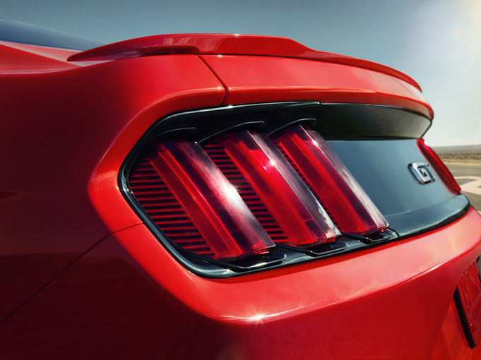 2015-18 Mustang Coupe GT OEM Type Spoiler Wing by Razzi (Paint Options)