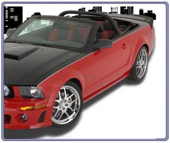 2005-2009 & (2010+) Mustang Roush Styling Bar COLOR CHARCOAL