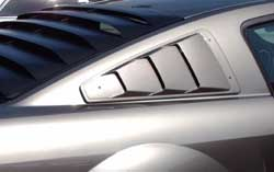05-09 Mustang Roush Upper Louvers - Pair