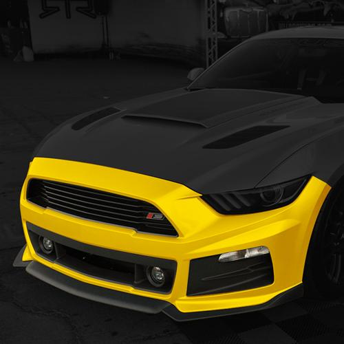 2015-17 Mustang Roush Complete Front Bumper Fascia Kit