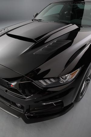 2015 2017 Mustang Roush Hood Scoop Paint Options