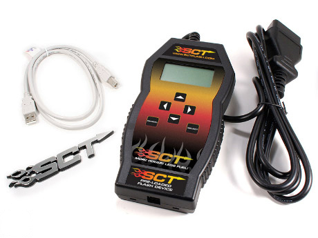1996-2011 Mustang GT/V6 SCT X-Cal 3 Handheld Tuner