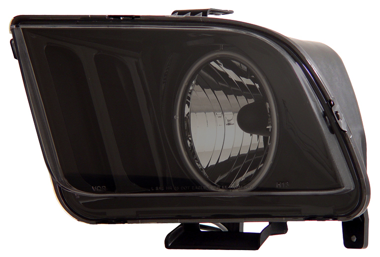 05-09 Mustang Headlights GEN 3 with HALO (CCFL)- SMOKED (Pair)