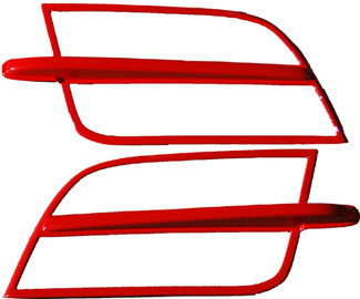 05-09 Headlight Splitters Version 2- DG PAINTED (Pair)