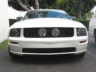 "05-09 Mustang Street Scene Center Fog Light Grills ""HONEYCOMB STYLE"" GT KIT"