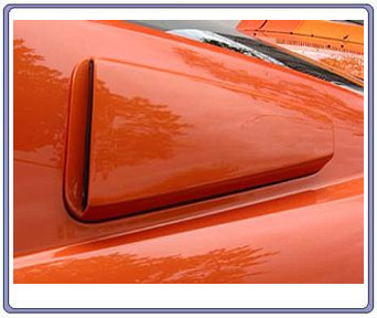 05-09 Mustang Street Scene Upper Scoops (PAINT OPTIONS)