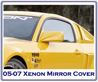 05-09 Xenon Mirror Covers - Paintable