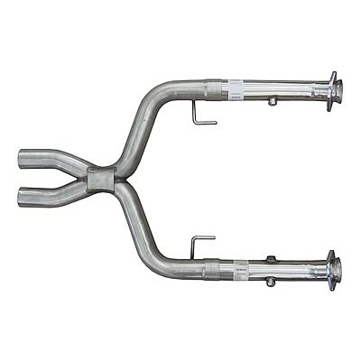 2005-2010 Mustang X-Pipe MID TUBE MODULAR OFF ROAD for Long Tube Headers by Pypes
