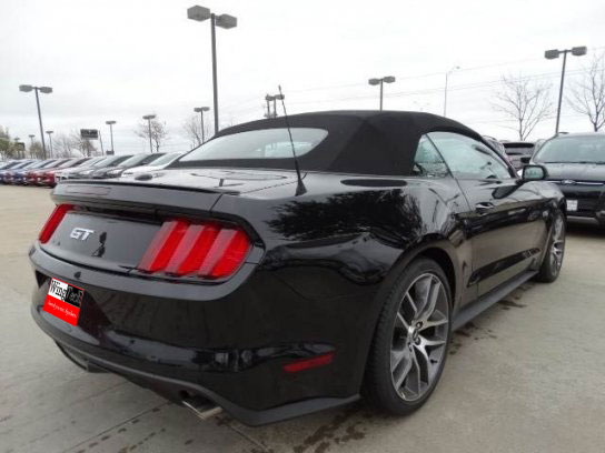 2015-18 Mustang Coupe/Convertible Wing Spoiler (Paint Options)