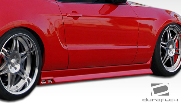 2010-2012 Ford Mustang V6 Duraflex Racer Body Kit - 4 Piece
