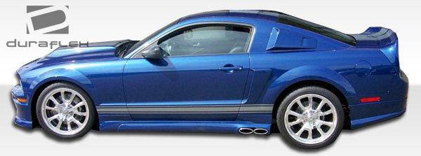 2010-2012 Ford Mustang Duraflex CVX Body Kit - 4 Piece