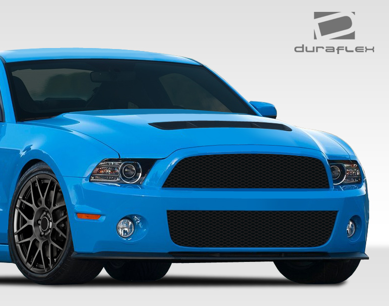 2010-2014 Ford Mustang Duraflex GT500 Look Conversion Front Bumper Cover - 1 Piece